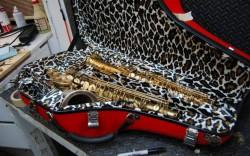 Mike Manning Custom Tenor Saxophone Cases