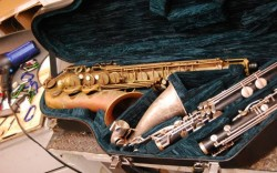 Mike Manning Custom Tenor Saxophone and Bass Clarinet Cases