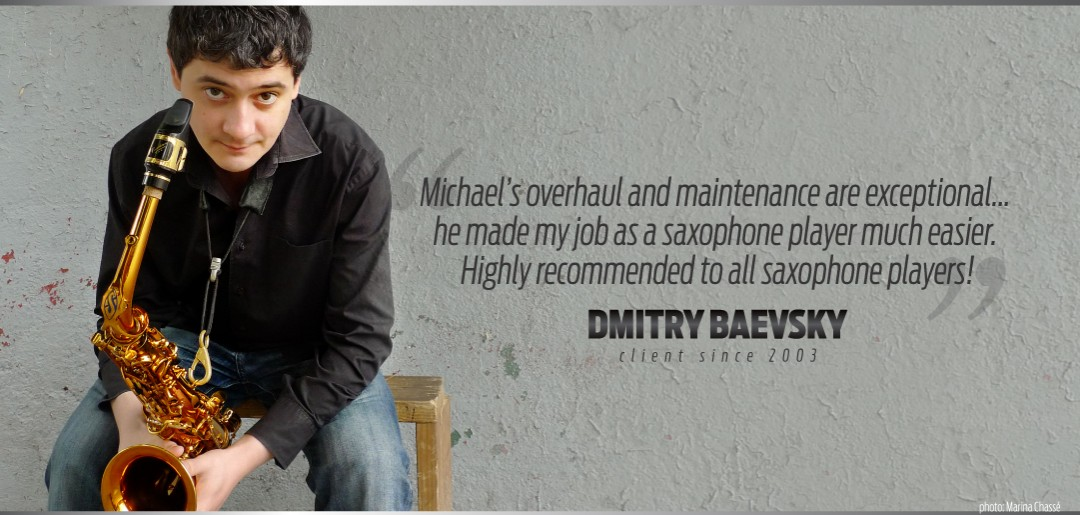 Dmitry Baevsky Uses Manning Custome Repair Services