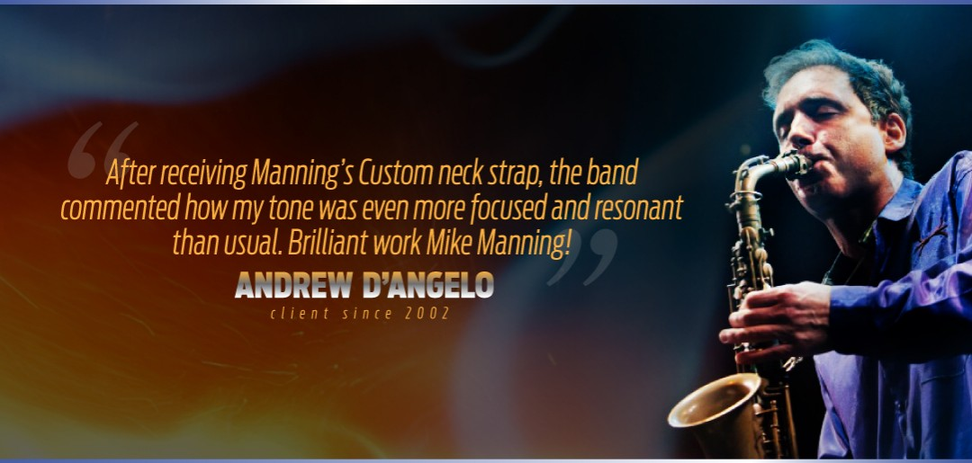 Andrew D'Angelo Uses Manning Custom Repair Services
