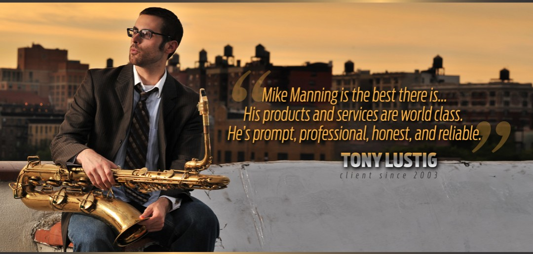 Tony Lustig Uses Manning Custom Repair Services