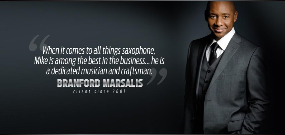 Branford Marsalis Uses Manning Custom Repair Services