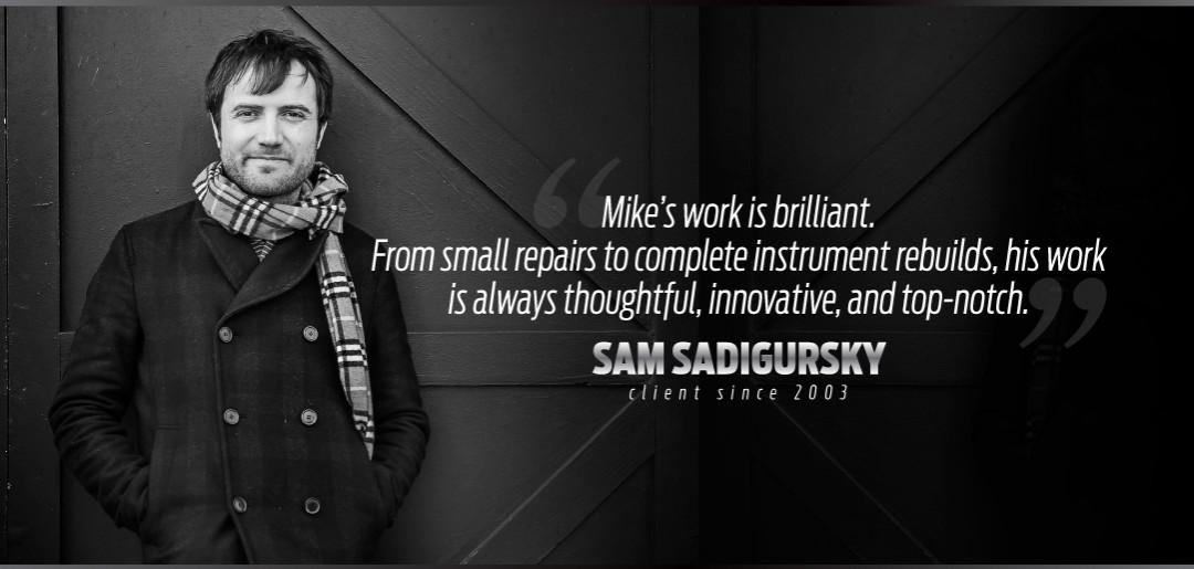 Sam Sadigursky Uses Manning Custom Repair Services
