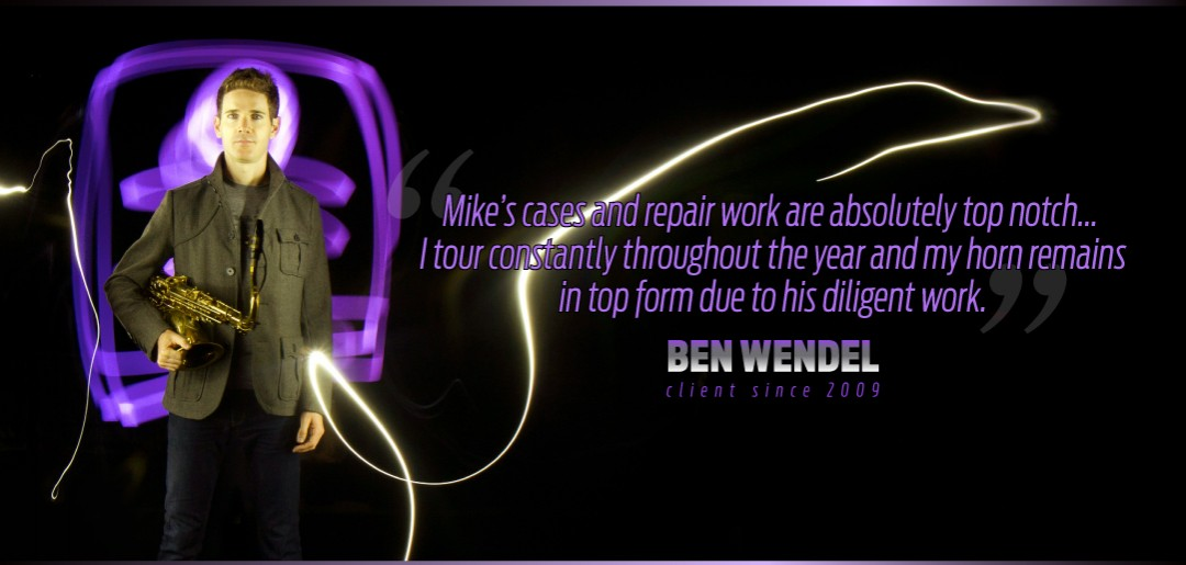 Ben Wendel Uses Mike Manning Custom Repair Services