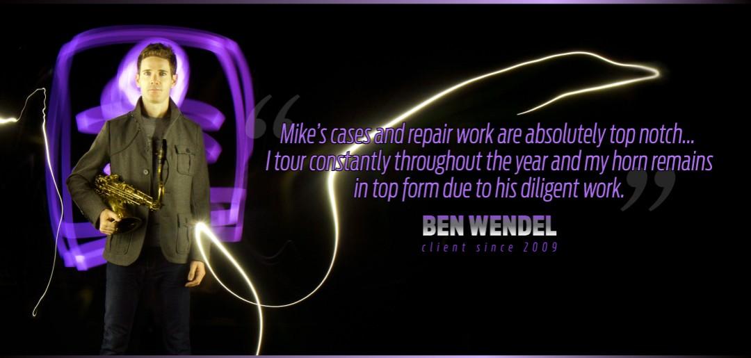 Ben Wendel Uses Mike Manning Custom Repair Services