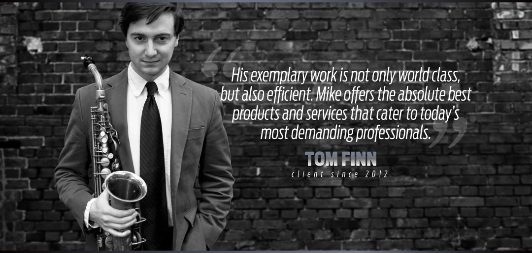 Tom Finn Nick Uses Mike Manning Custom Repair Services