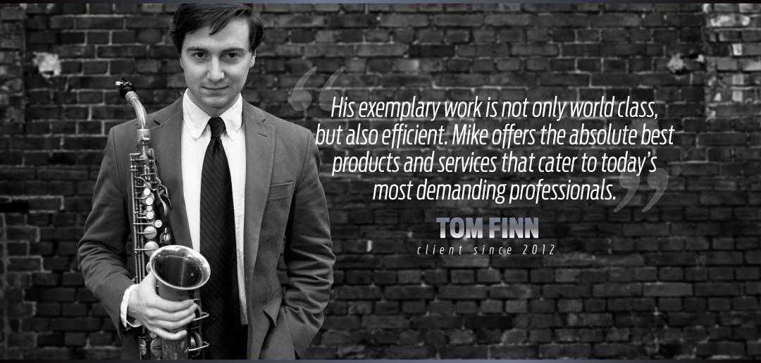 Tom Finn Nick Uses Mike Manning Custom Repair Services